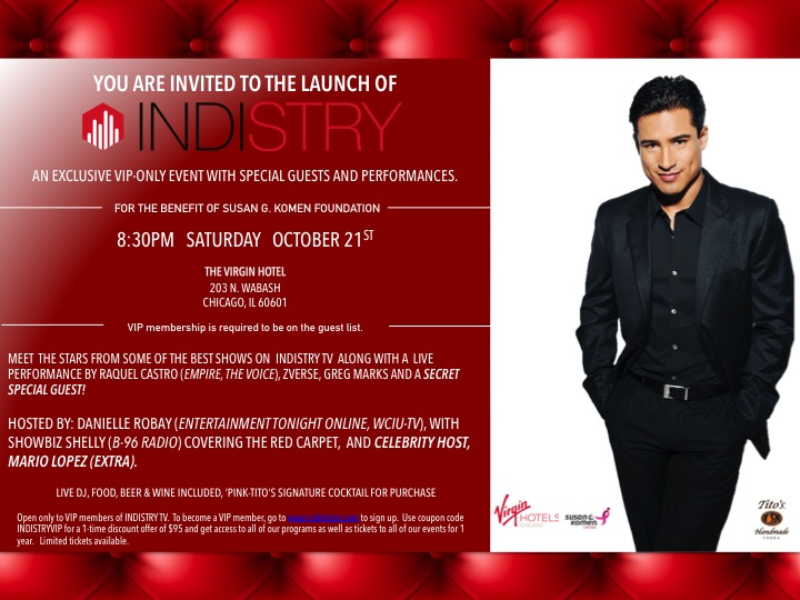 Indistry Launch Party - The Virgin Hotel - Chicago