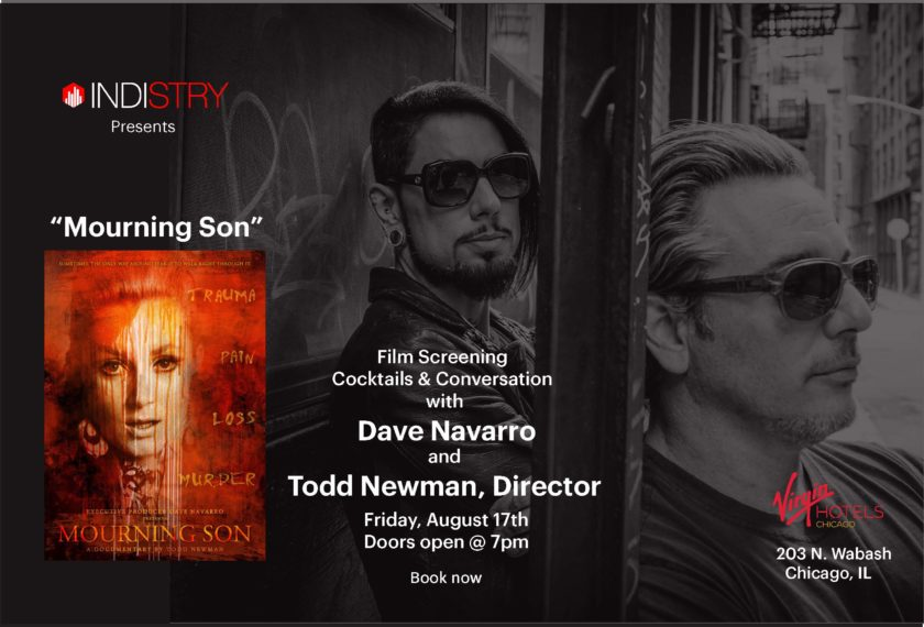 Mourning Son Film -Dave Navarro - Indistry